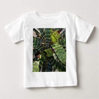 Vriesea Splendens Bromeliad Plant Striped Leaves Baby T-Shirt