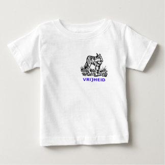 Vrijheid - wolf in wildernis baby T-Shirt