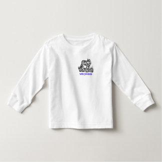 Vrijheid - wolf in wildernis toddler t-shirt