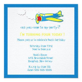 Vroom.... Birthday party invites