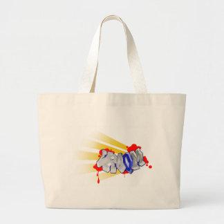 Vroom Large Tote Bag
