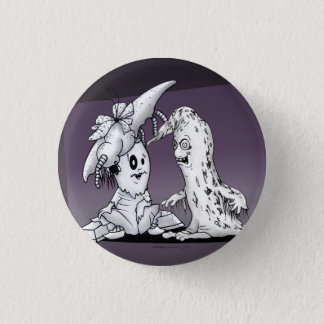 VROTZ AND LAOZY CUTE ALIEN MONSTER SMALL BUTTON