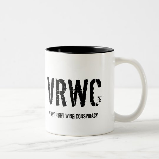 VRWC, Vast Right Wing Conspiracy Two-Tone Coffee Mug