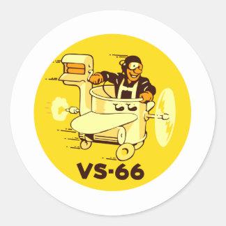 VS-66 ETIQUETAS REDONDAS