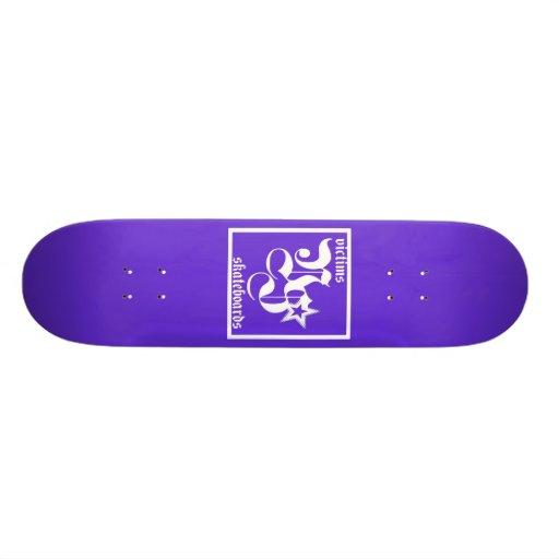 VSC Signature Purp Custom Skateboard