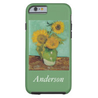 Vse with Three Sunflowers Vincent an Gogh, Tough iPhone 6 Case