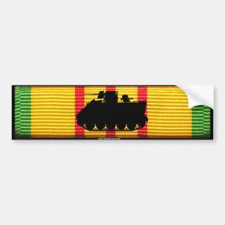 VSM Ribbon with M113 ACAV Sticker Car Bumper Sticker