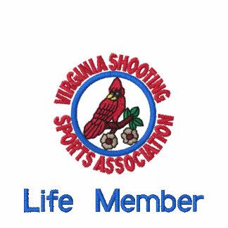 VSSA Life Member Custom Embroidered Shirt