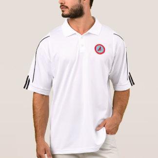 VSSA Logo Screen Printed Polo Shirt