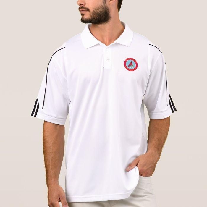 Vssa logo screen printed polo shirt zazzle for Screen printing polo shirts