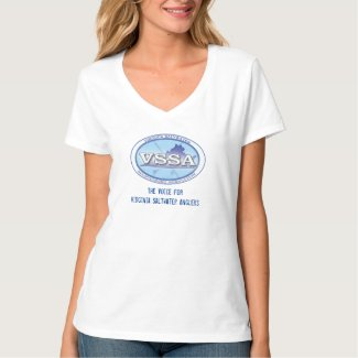 VSSA Women's V-neck T-shirt