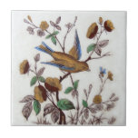 """VT0031 Reproduction Antique Transferware Ceramic Tile<br><div class=""""desc"""">Historical antique tile reproduced on a smooth surface 4.25&quot; or 6&quot; ceramic tile. Perfect for interior tile wall accents, backsplashes, fireplace surrounds, bathroom and showers walls, kitchens and craft projects. Not intended for outdoor use. Our tiles are copies of costly authentic original antique tiles. Suggestion: Order one tile to review...</div>"""