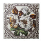 """VT0036 Reproduction Antique Transferware Ceramic Tile<br><div class=""""desc"""">Historical antique tile reproduced on a smooth surface 4.25&quot; or 6&quot; ceramic tile. Perfect for interior tile wall accents, backsplashes, fireplace surrounds, bathroom and showers walls, kitchens and craft projects. Not intended for outdoor use. Our tiles are copies of costly authentic original antique tiles. Suggestion: Order one tile to review...</div>"""