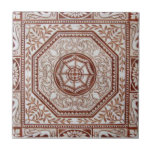 """VT0084 Reproduction Antique Transferware Ceramic Tile<br><div class=""""desc"""">Historical antique tile reproduced on a smooth surface 4.25&quot; or 6&quot; ceramic tile. Perfect for interior tile wall accents, backsplashes, fireplace surrounds, bathroom and showers walls, kitchens and craft projects. Not intended for outdoor use. Our tiles are copies of costly authentic original antique tiles. Suggestion: Order one tile to review...</div>"""