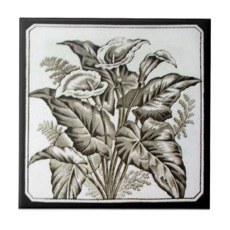 VT0104 Reproduction Antique Transferware Ceramic Tile