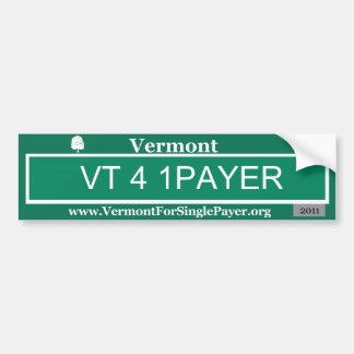 VT 4 1 pagador Pegatina Para Auto