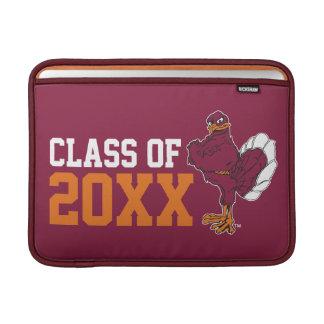 VT Class of with Hokie Bird MacBook Air Sleeve
