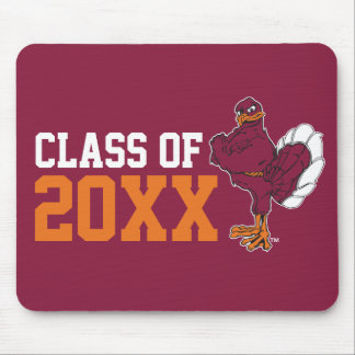VT Class of with Hokie Bird Mouse Pad