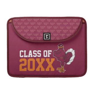 VT Class of with Hokie Bird Sleeve For MacBook Pro