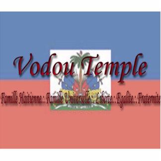 VT Haitian Flag Sculpture
