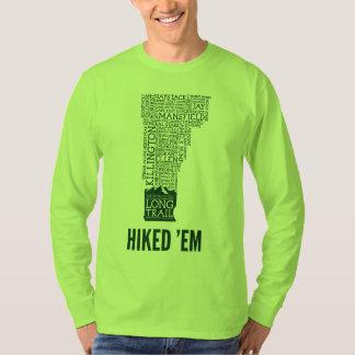 VT Long Trail Hiked Long Sleeve T-Shirt (Green)