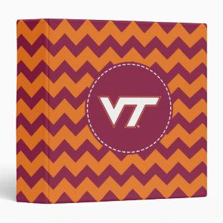 VT Virginia Tech 3 Ring Binder