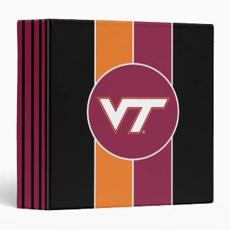 VT Virginia Tech Binder
