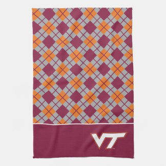 VT Virginia Tech Kitchen Towel