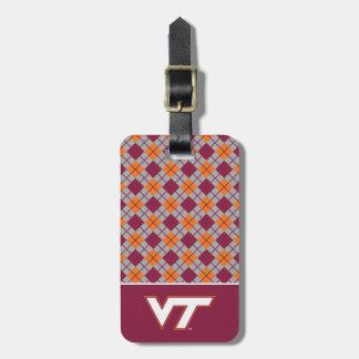 VT Virginia Tech Luggage Tag