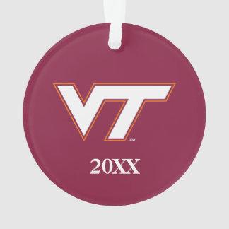 VT Virginia Tech Ornament