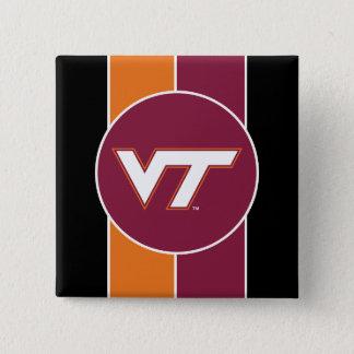 VT Virginia Tech Pinback Button