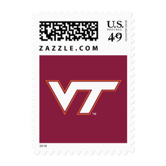 VT Virginia Tech Postage Stamp