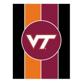 VT Virginia Tech Postcard