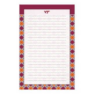 VT Virginia Tech Stationery