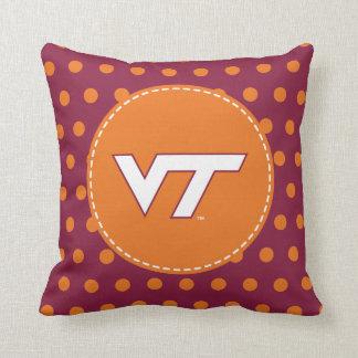 VT Virginia Tech Throw Pillow