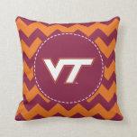 VT Virginia Tech Throw Pillows