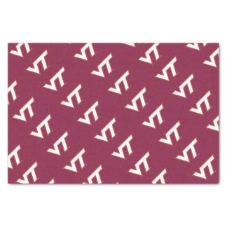 VT Virginia Tech Tissue Paper