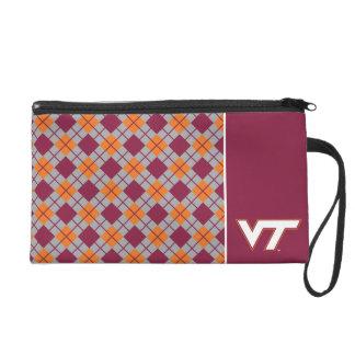 VT Virginia Tech Wristlet