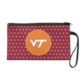 VT Virginia Tech Wristlet Purse