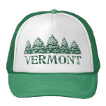 VT Winter Evergreens Trucker Hat