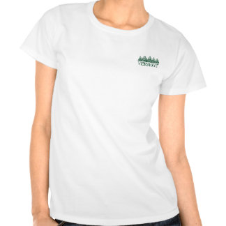 VT Winter Evergreens Tee Shirt