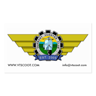 VTScoot Calling Card Business Card