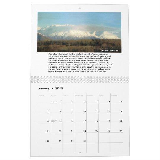 Vudsie's Alaska Calendar