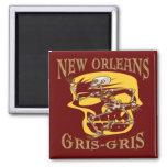 Vudú de New Orleans Gris Gris Imán De Frigorifico