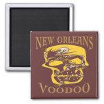 Vudú de New Orleans Imán Cuadrado