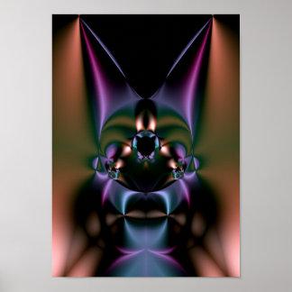 vudú del fractal: doctor de bruja póster