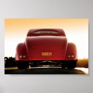 Vudú - poster del coche de carreras