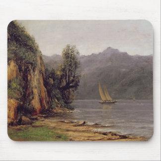 Vue du Lac Leman, c.1873-77 Mouse Pad