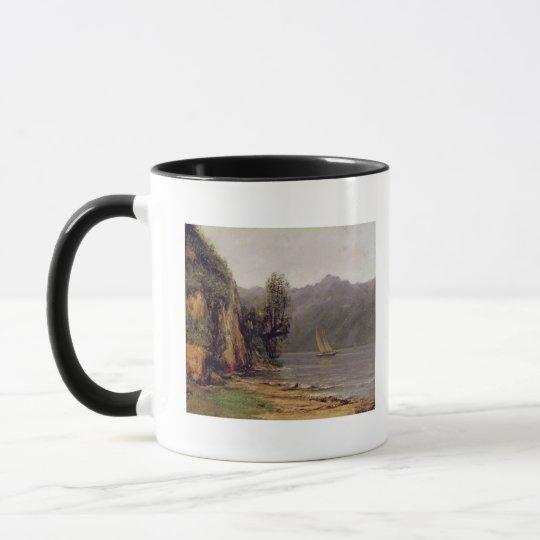 Vue du Lac Leman, c.1873-77 Mug