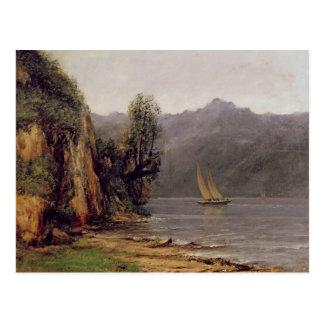 Vue du Lac Leman, c.1873-77 Postcard